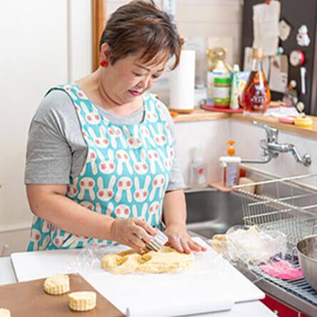 こだわりの北海道産食材を使用